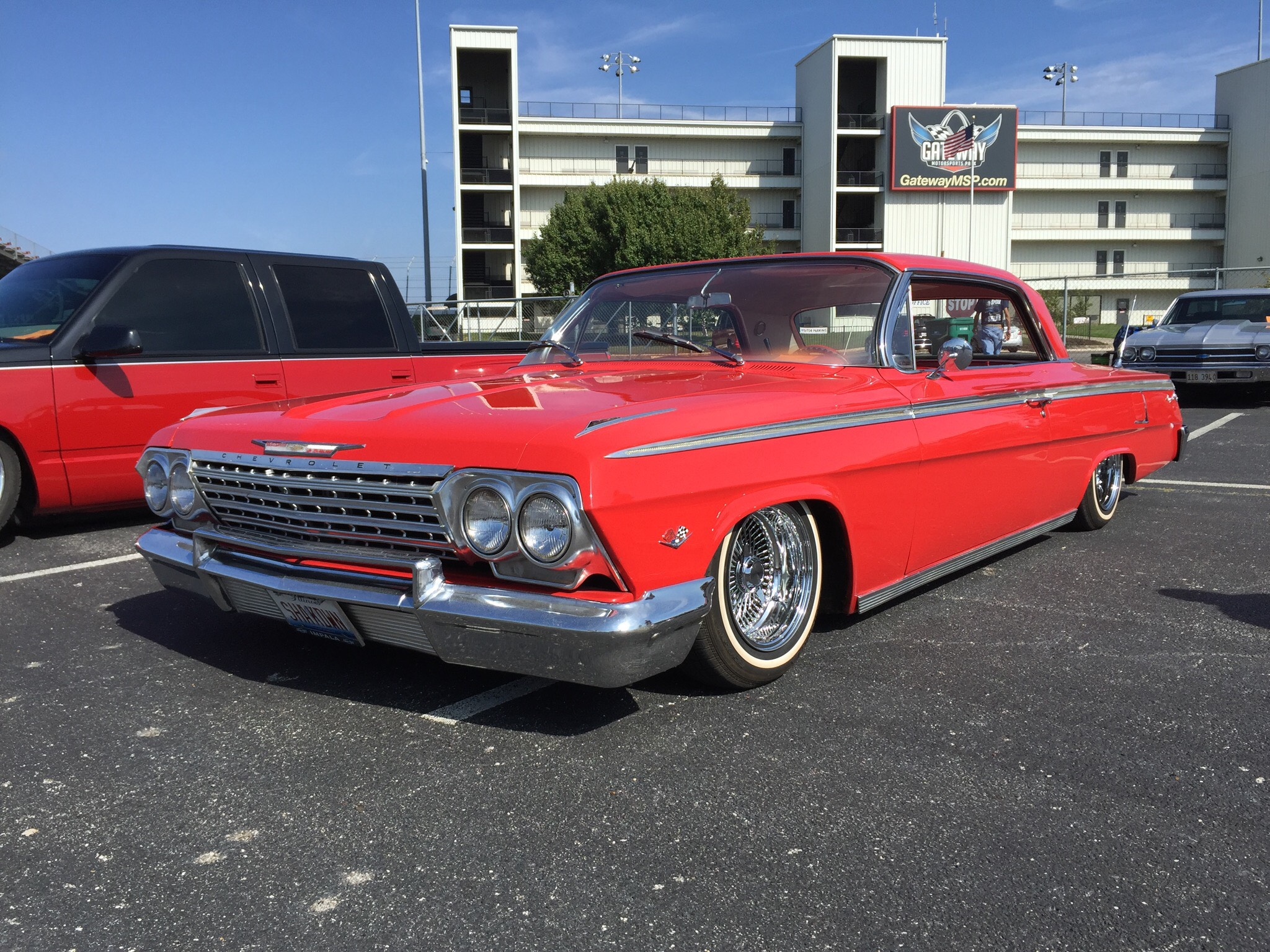 62 Impala With Hydraulics And Dayton Wire Or Spoke Rims In My Opinion This Was My Favorite Car