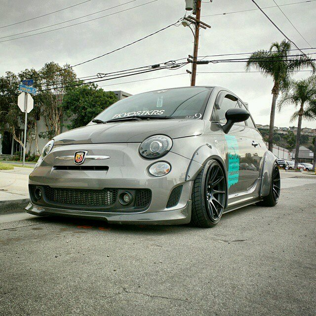 Fiat 500 Abarth Wide Body For 500points