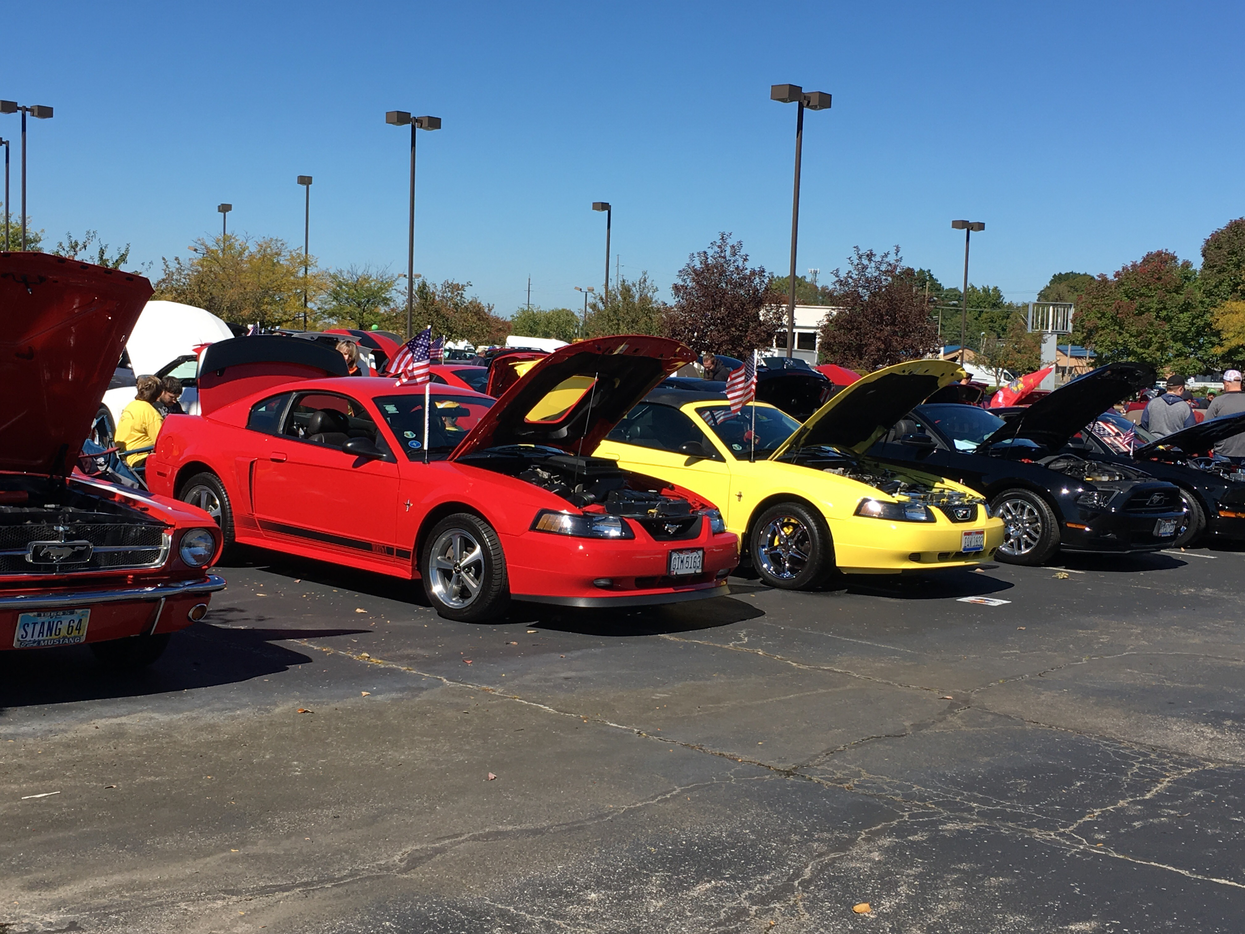 Bill Collins Ford Mustang Show Today In Louisville Ky - Bill collins ford car show