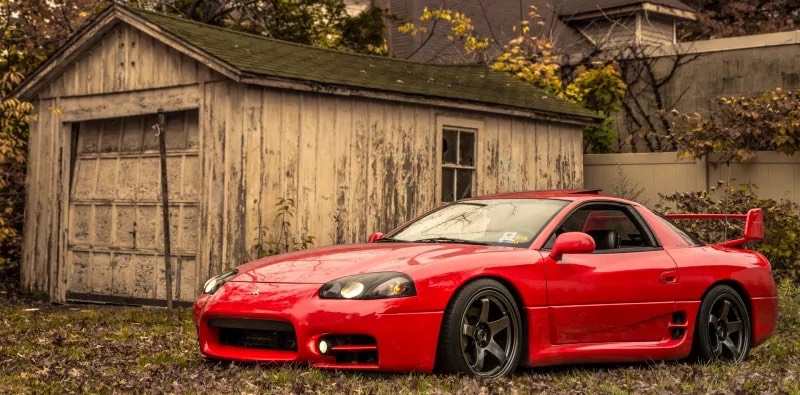 Really clean looking Mitsubishi 3000GT VR4