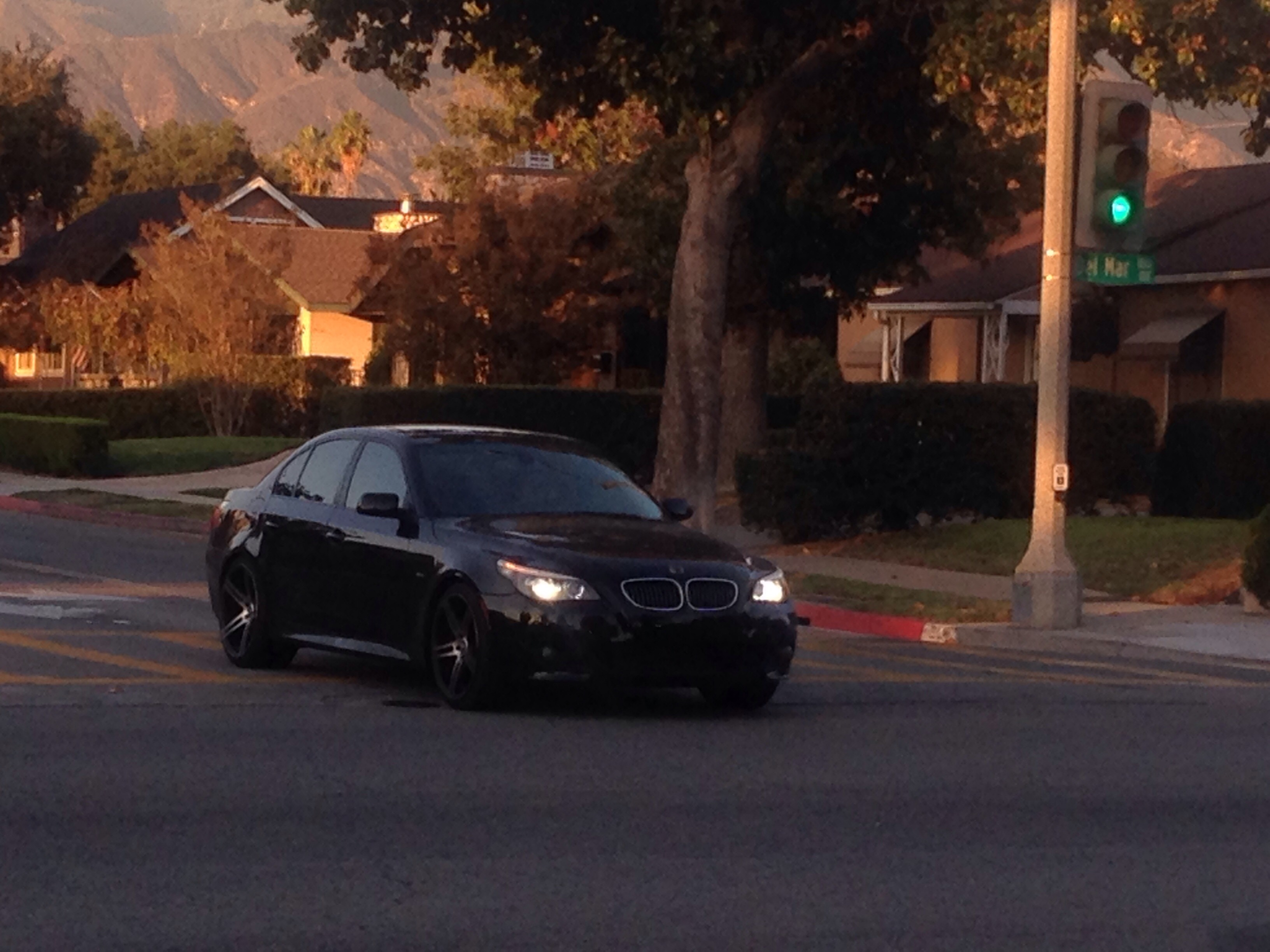 E60 550i Faked Into An E60 M5 What Will You React To This