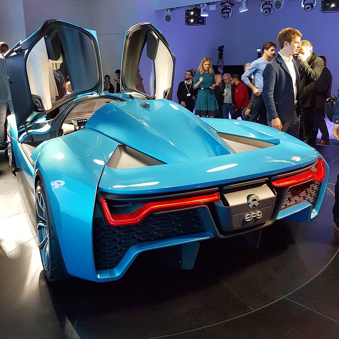 The NIO EP9 Electric Supercar From NextEV Launched Today