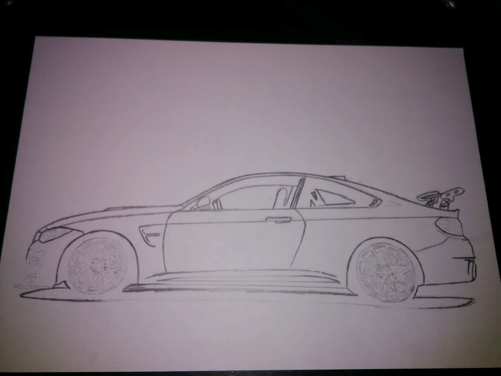 I M Back With A Bmw M4 Gts Drawing