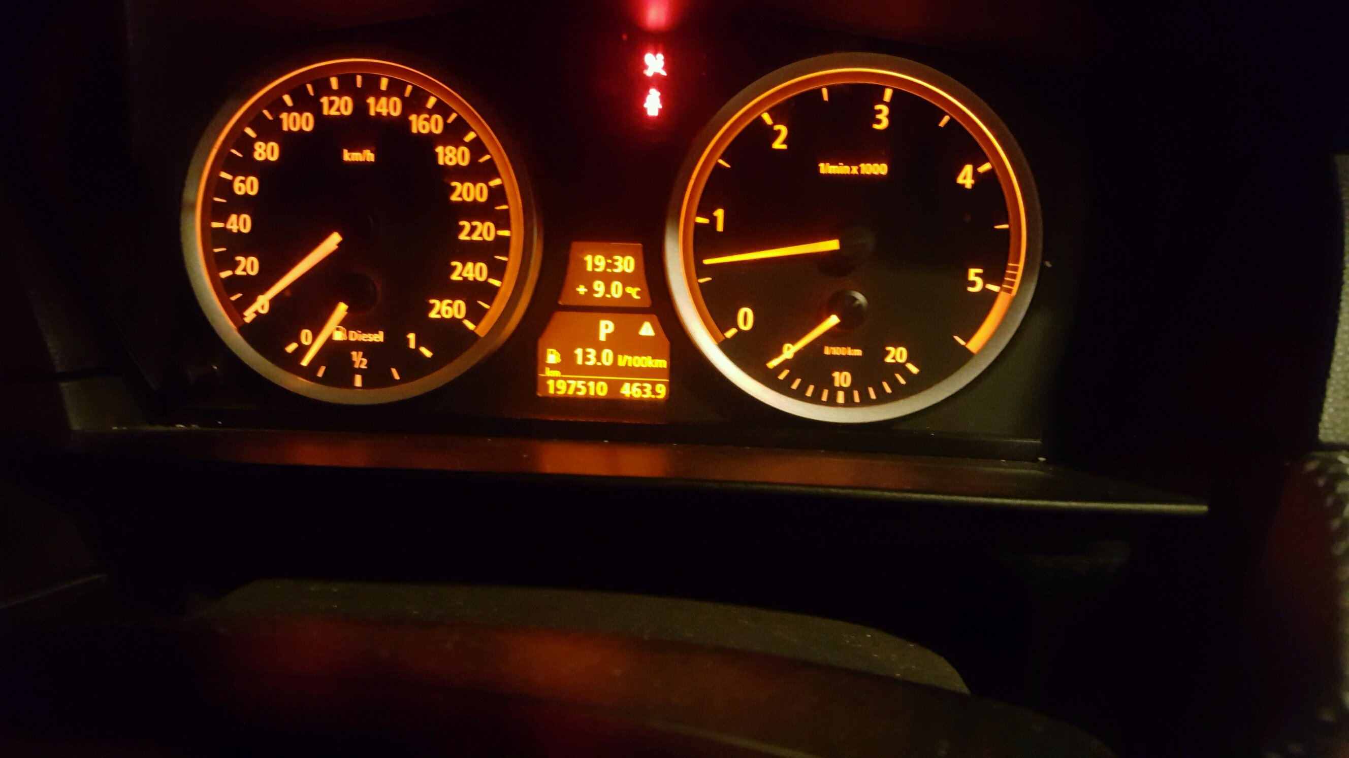 what mpg do you guys get? This is my 535d\'s consumption.