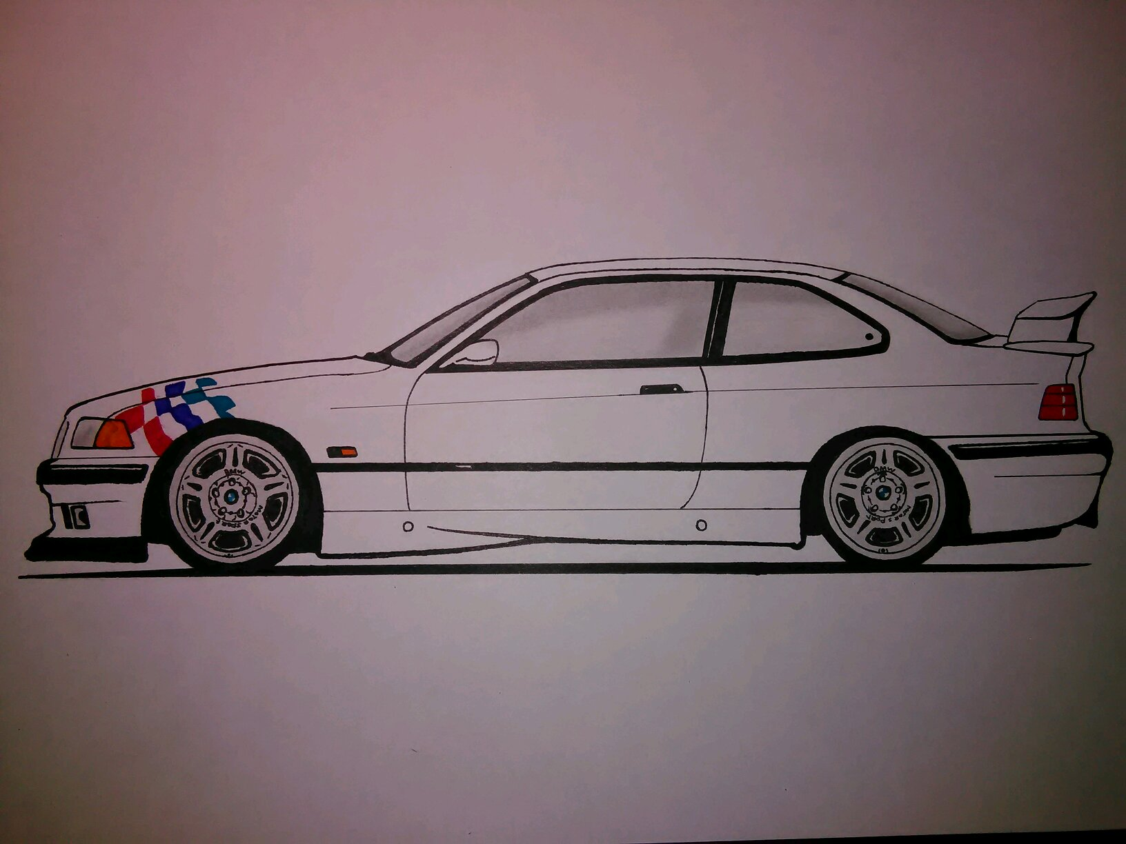Bmw E36 M3 Ltw Drawing