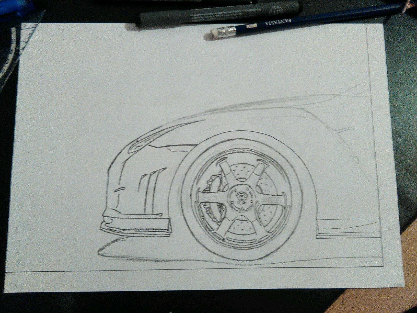 New Drawing The Nissan Gtr R35 Nismo Sketch