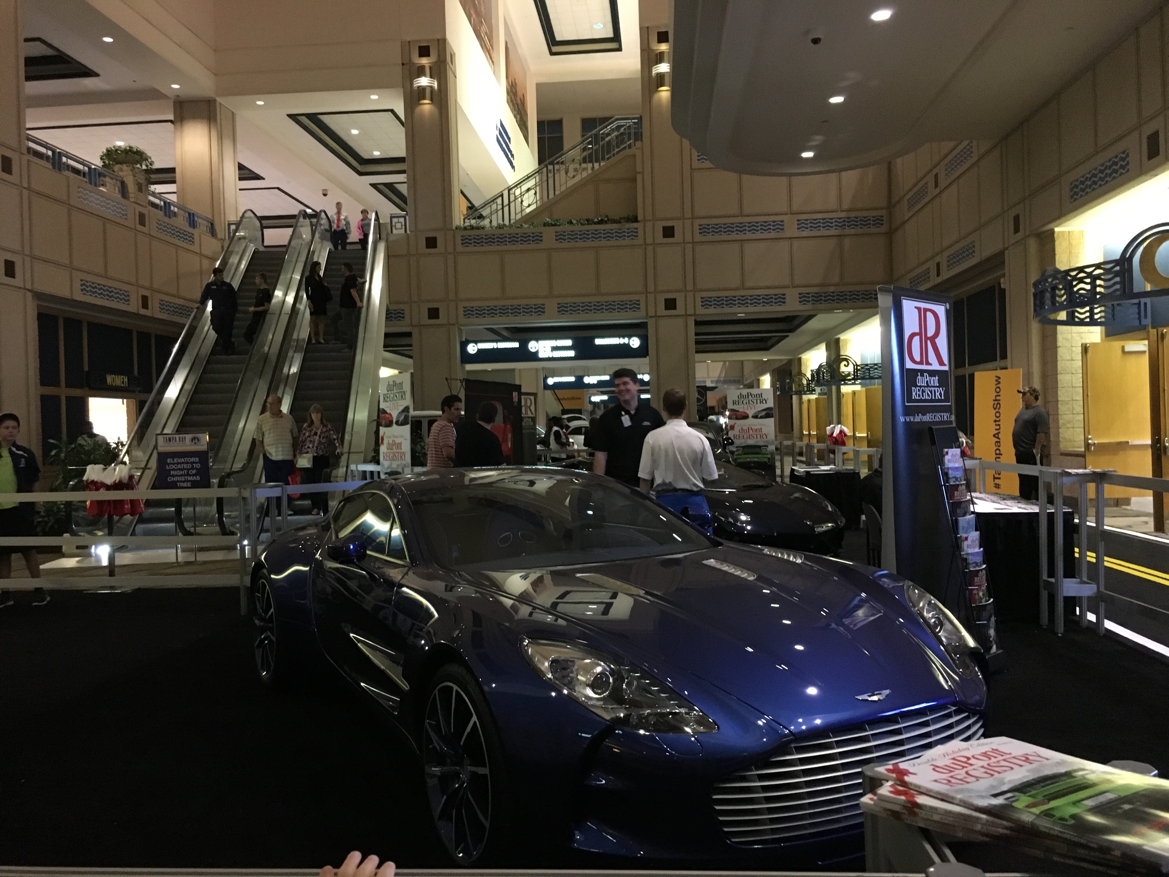Beautiful Aston One At The Tampa Bay Auto Show - Aston martin tampa