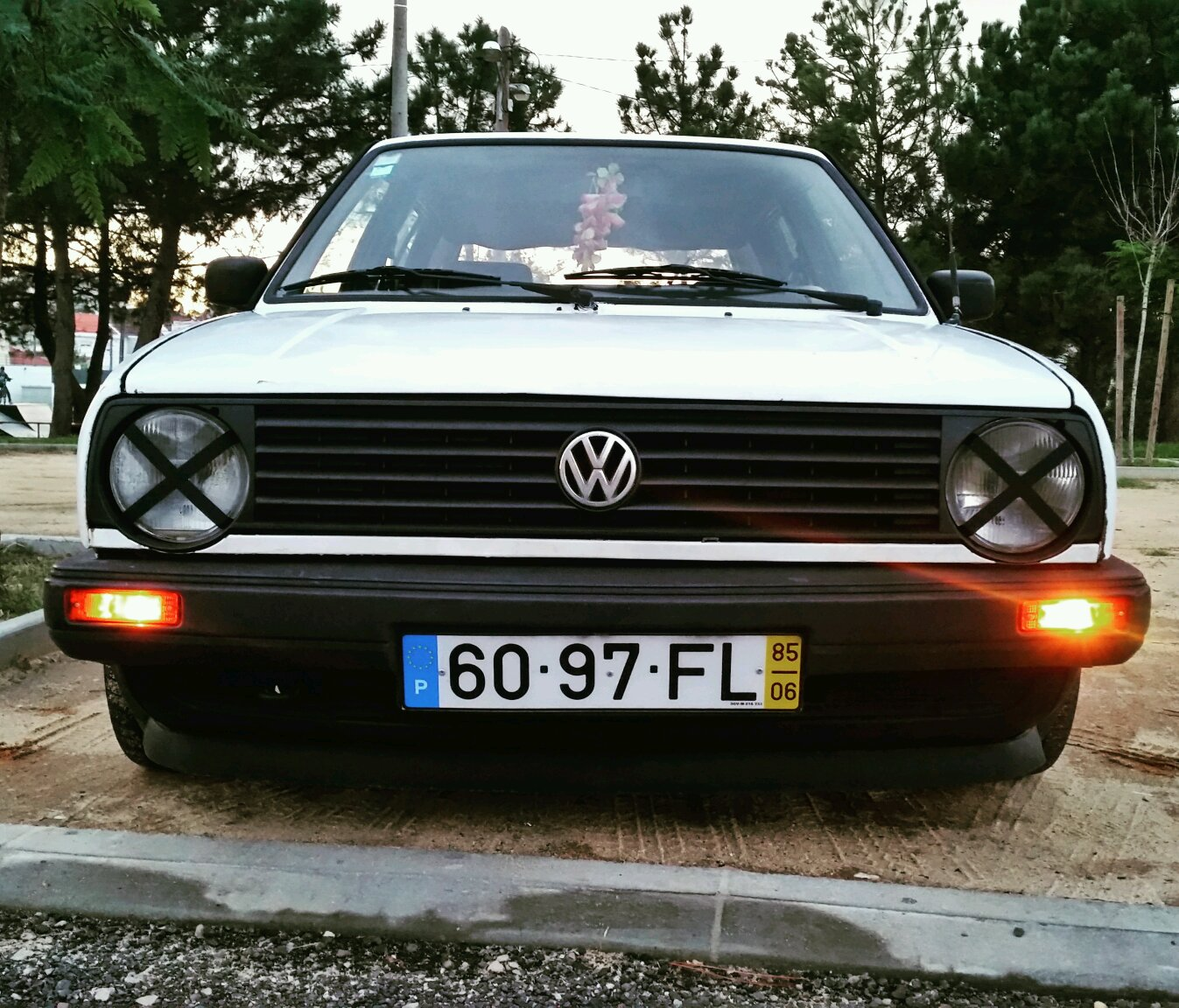 Groovy My Mk2 Vw Golf-GTD FT07