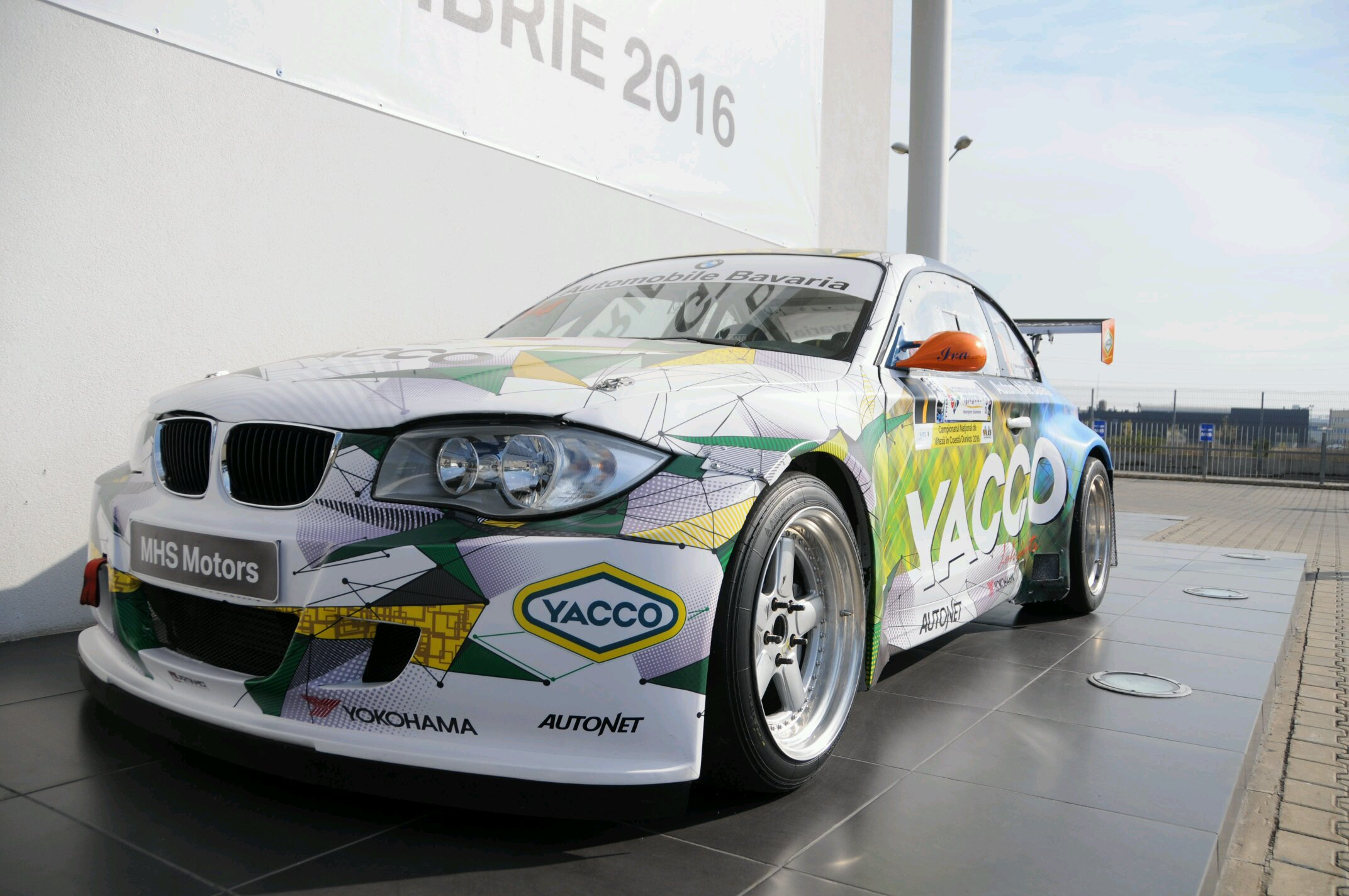Bmw 1 Series Rally Car