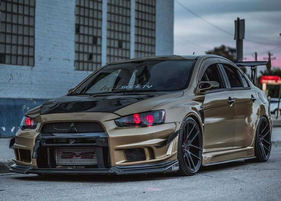 I Got To Admit This Is A Nice Evo