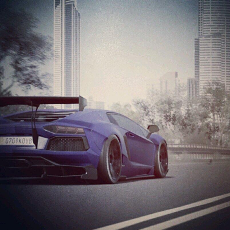 Lamborghini Aventador Liberty Walk Kit