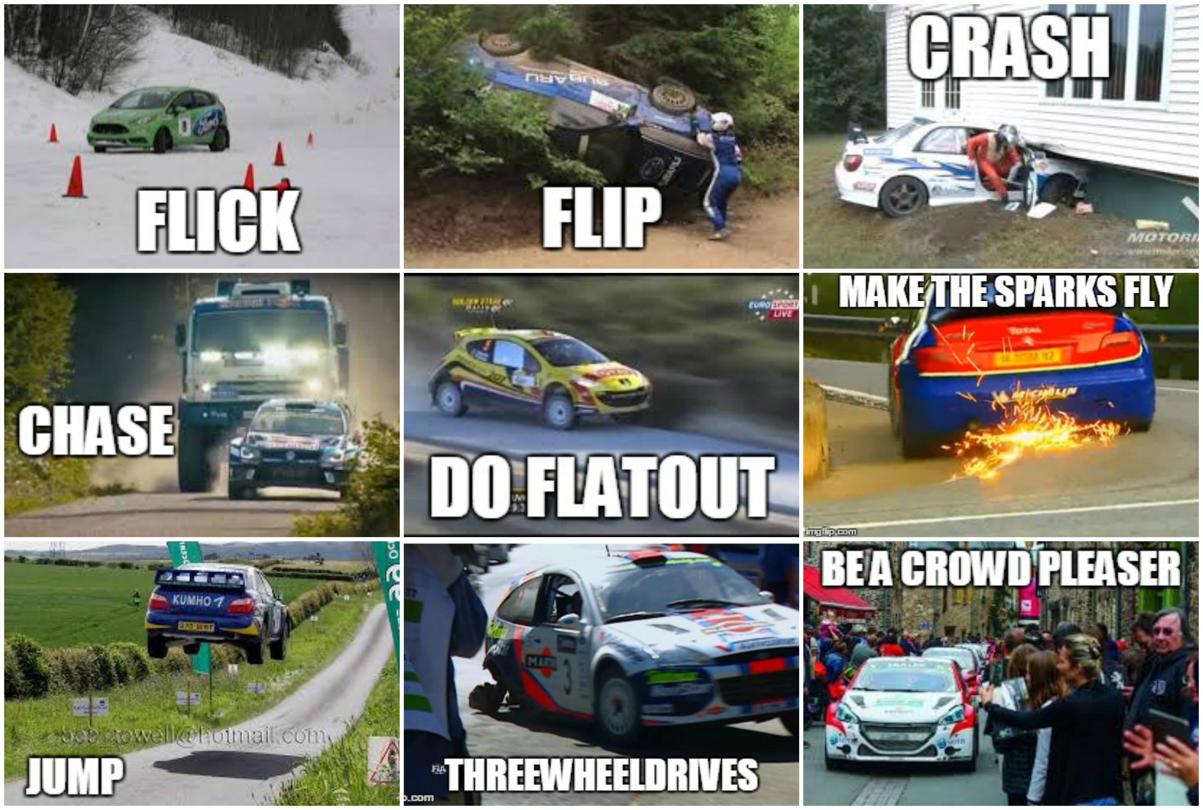 Rally Car Meme Pictures To Pin On Pinterest ThePinsta