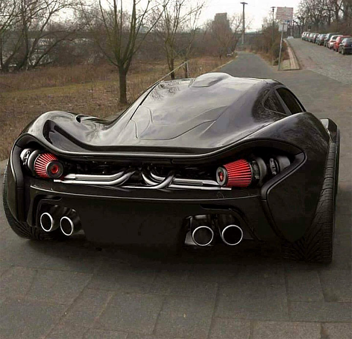 Mclaren   WOW... What A Wicked Monster... Twin Turbo