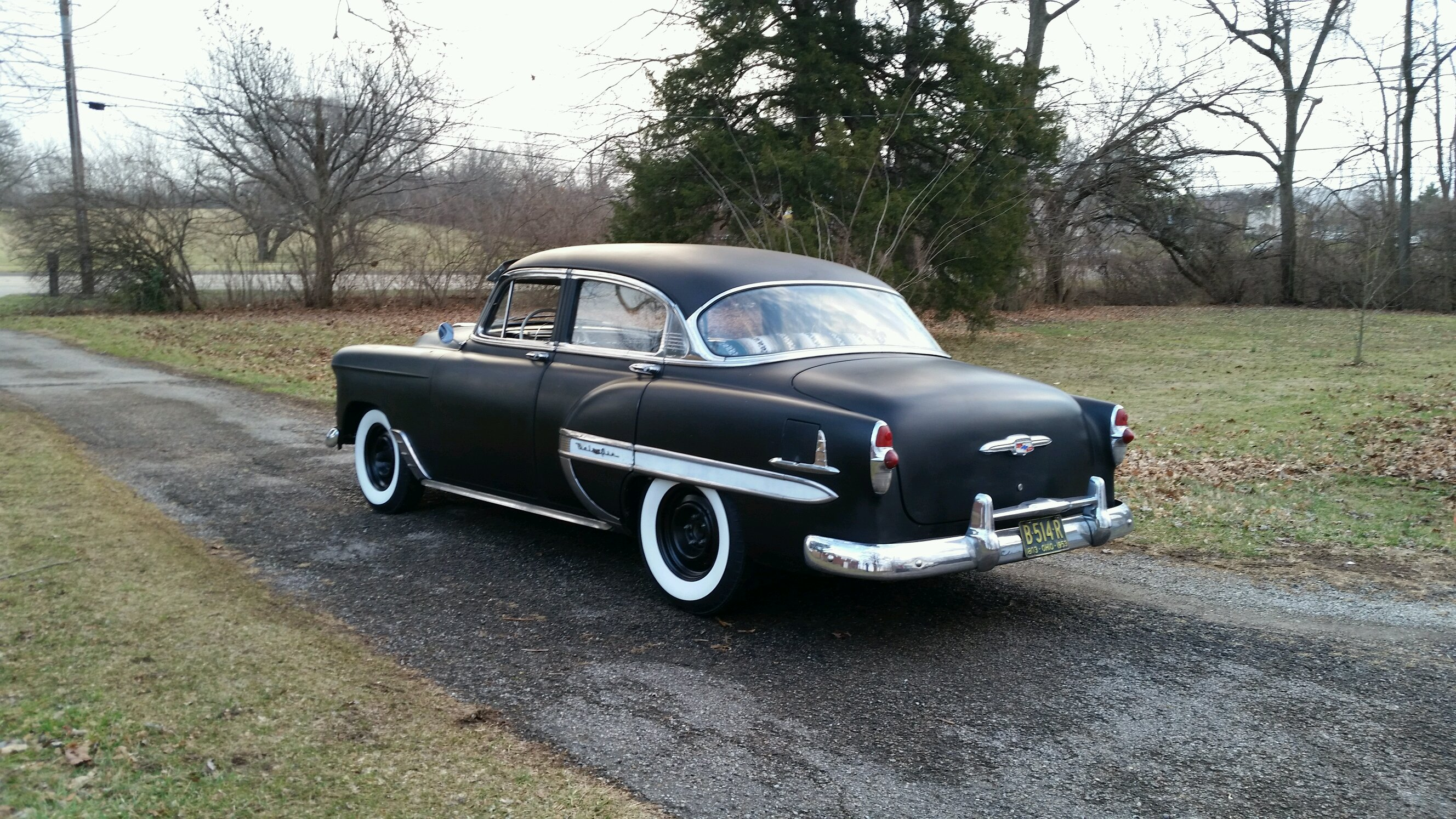 1953 chevrolet bel air for Garage renault bouc bel air