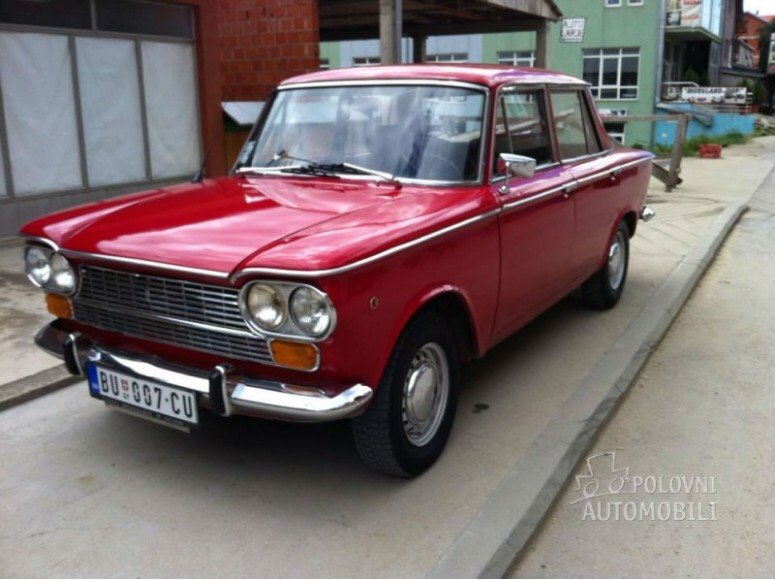 Hit 1300 points, so here is a Fiat/Zastava 1300 aka