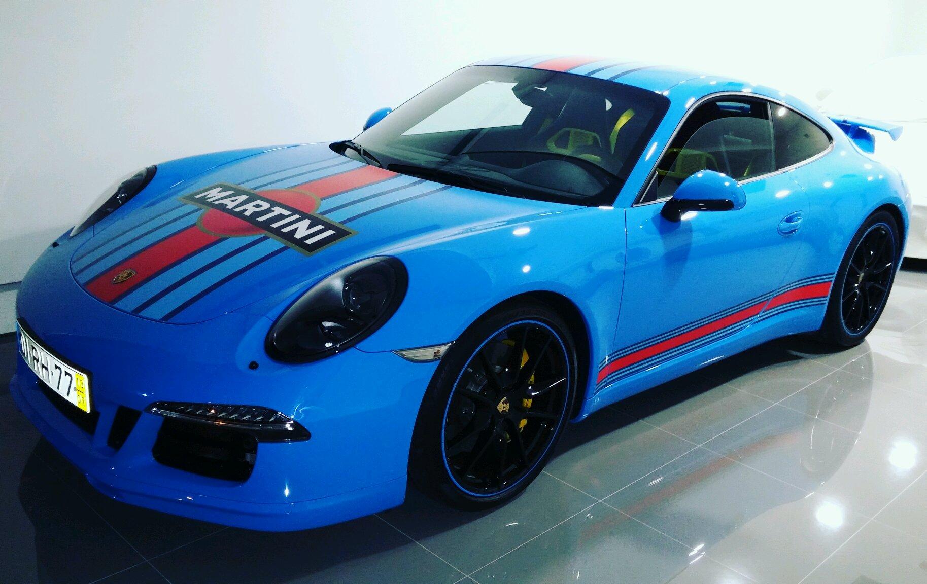 2013 Porsche S Riviera Blue 39E