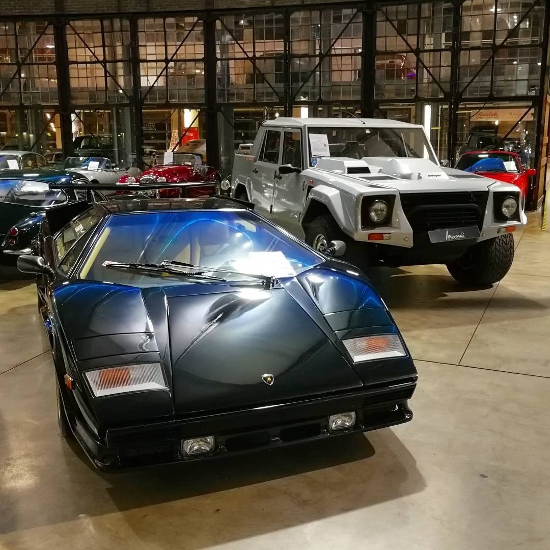 Two Very Different Types Of Lamborghinis At Classicremise But What