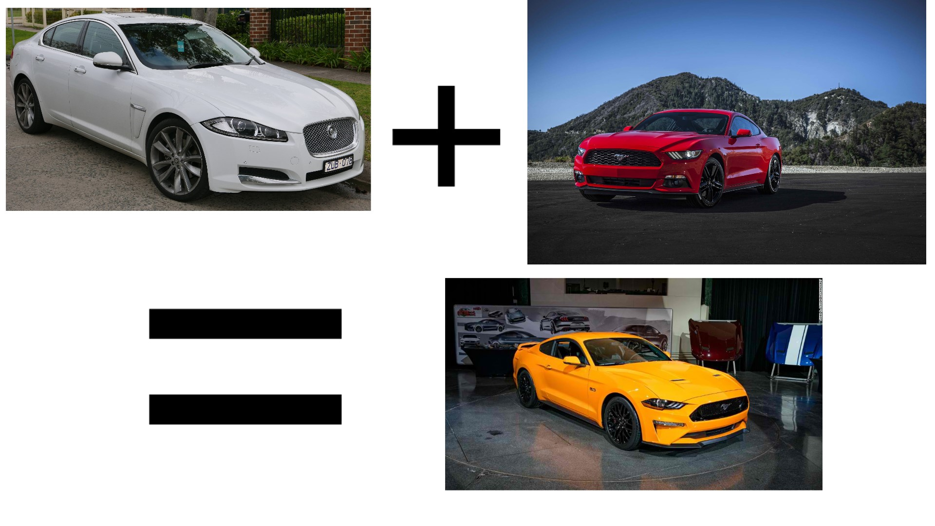 Ford Mustang Gt Vs Jaguar Xf