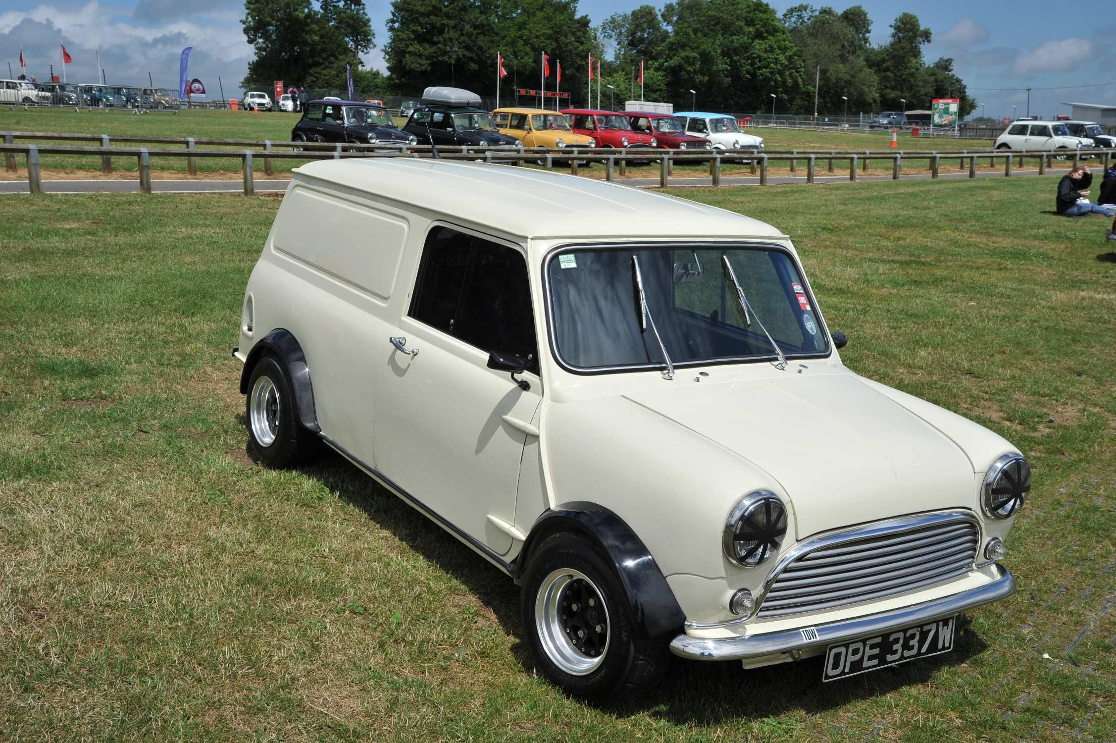 Clean Mini Cooper Van