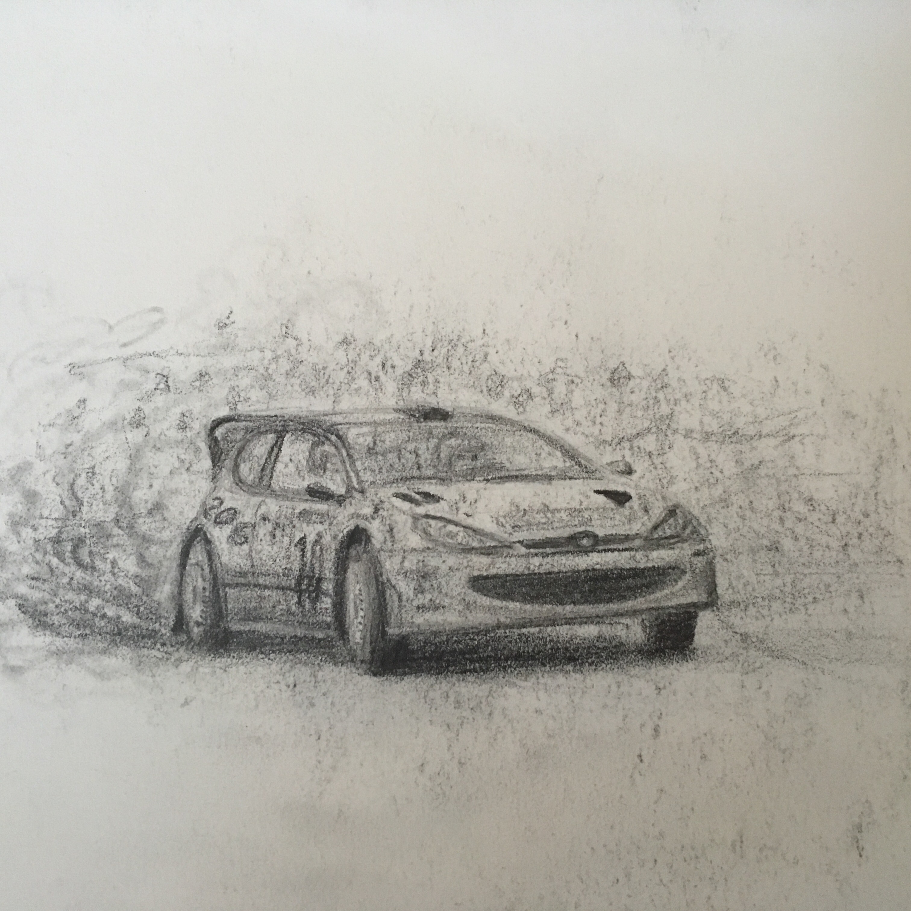 My Drawing Of Peugeot 206 Wrc