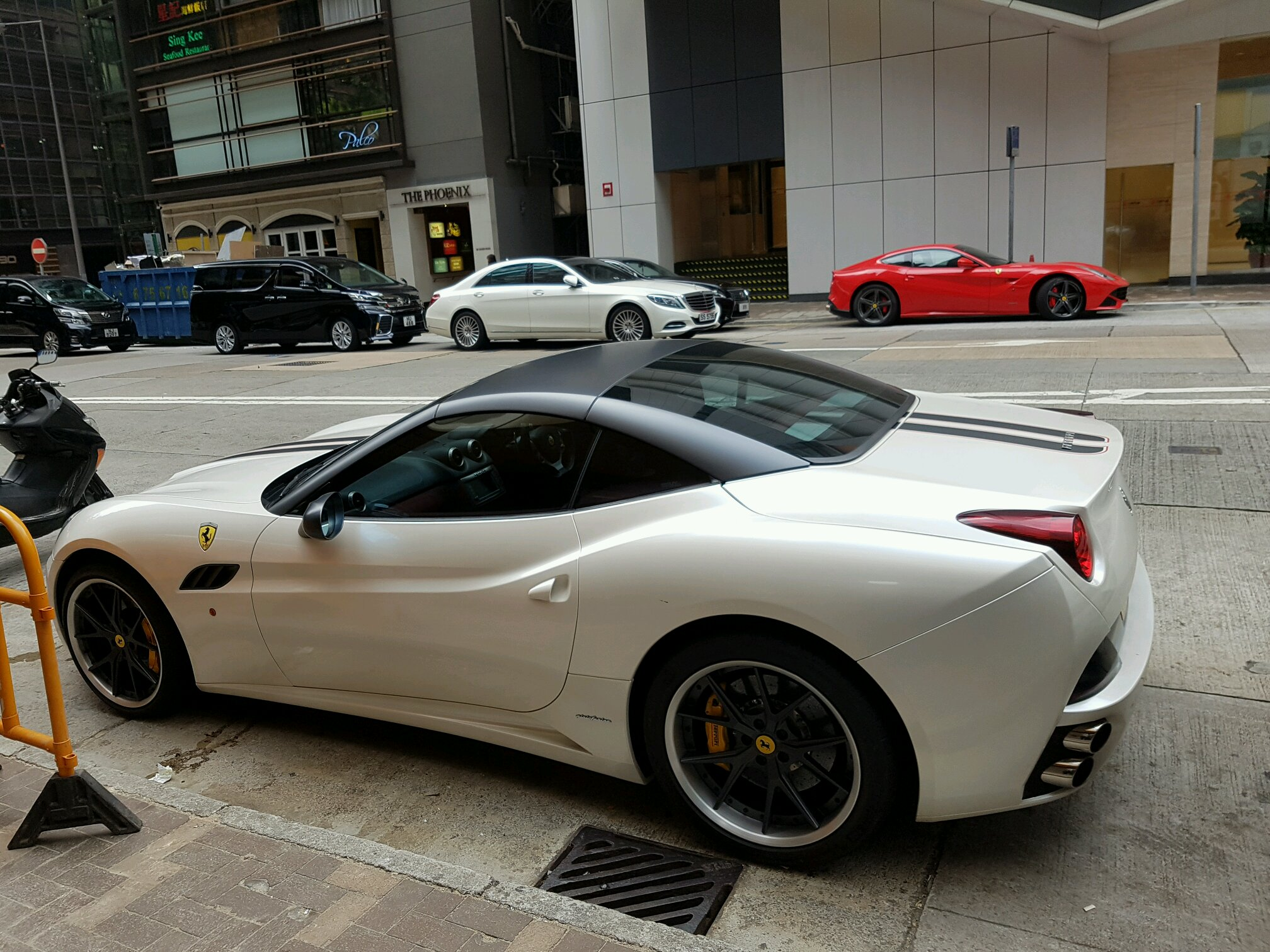 F12 And California Double Spot In Hong Kong Right In Front Of The