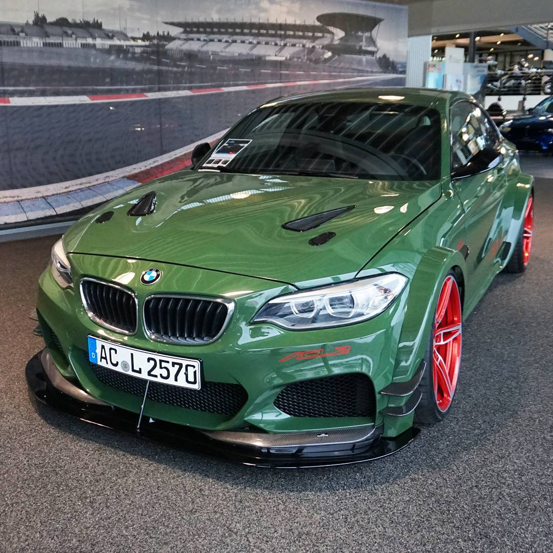 Checking Out The @acschnitzer ACL2, This Is A BMW 235i