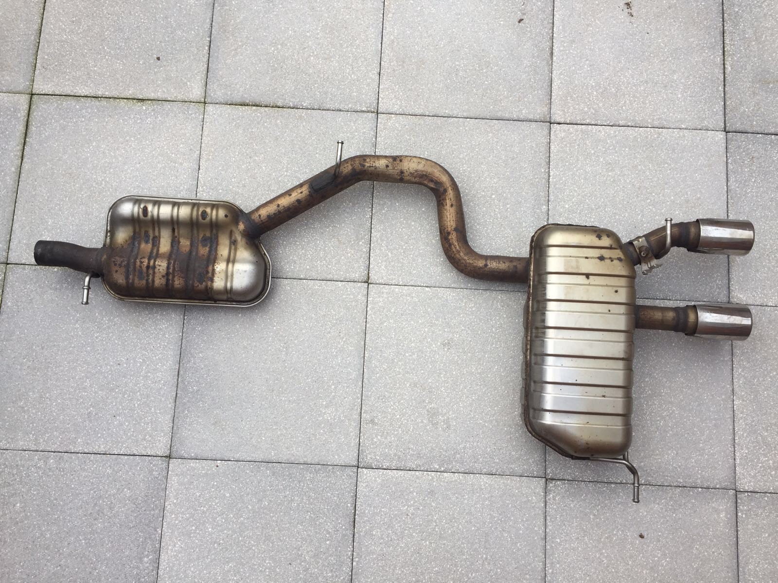 R32 OEM Exhaust For SALE!