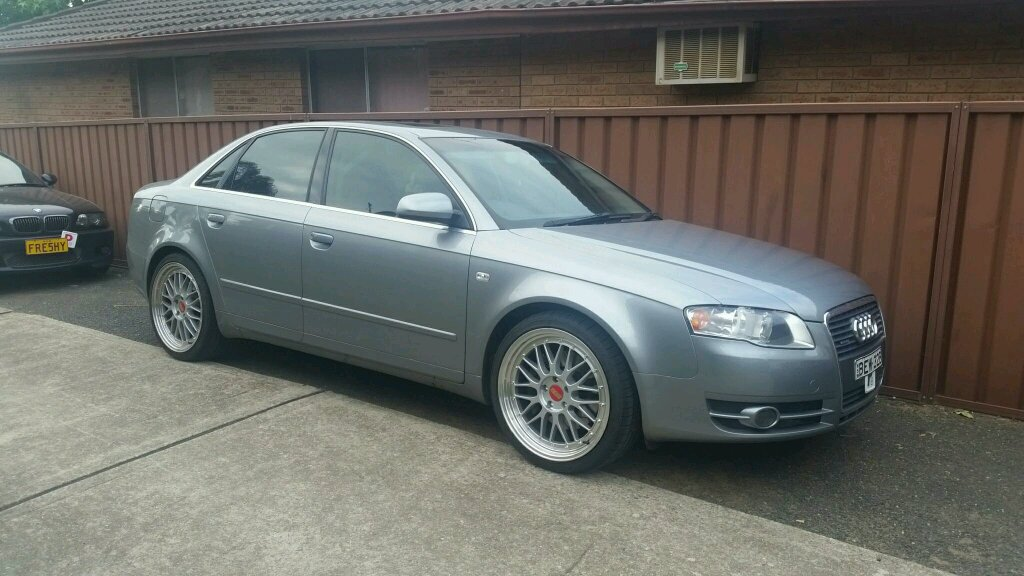 Audi a4 b7 2 0t quattro Mods so far Bbs replica wheels Apr