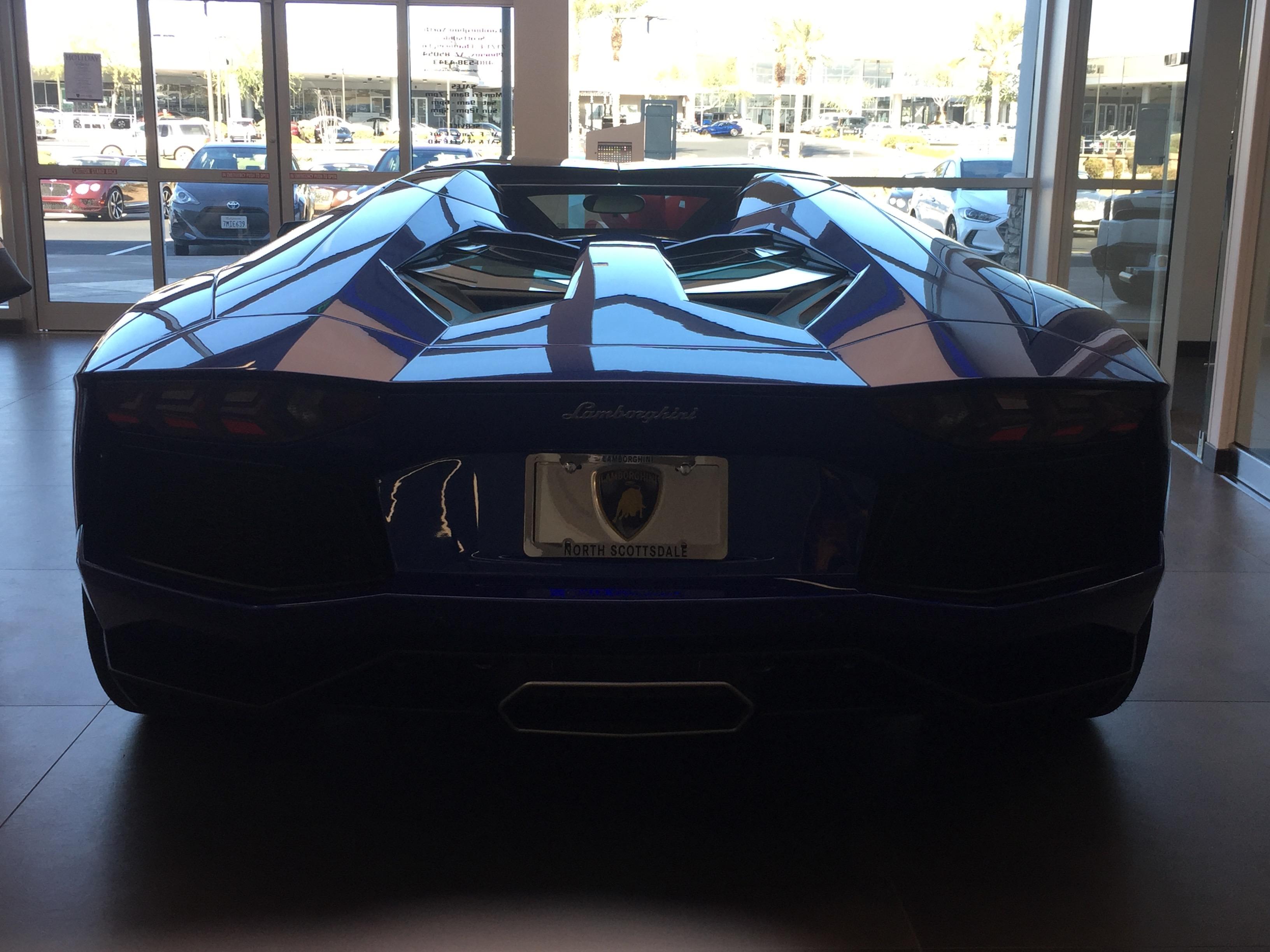 Purple Lamborghini Just Like The Song