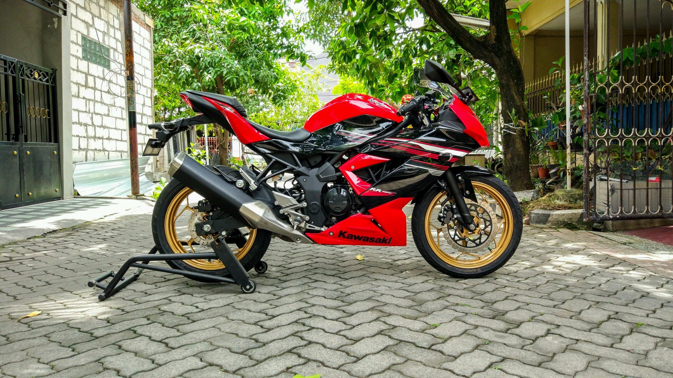 Kawasaki akan luncurkan rr mono versi naked
