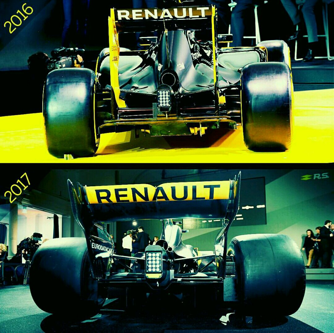 Renault Confirm Magnussen Reveal 2016 Car: 2016 V 2017 Cars. Spot The Difference