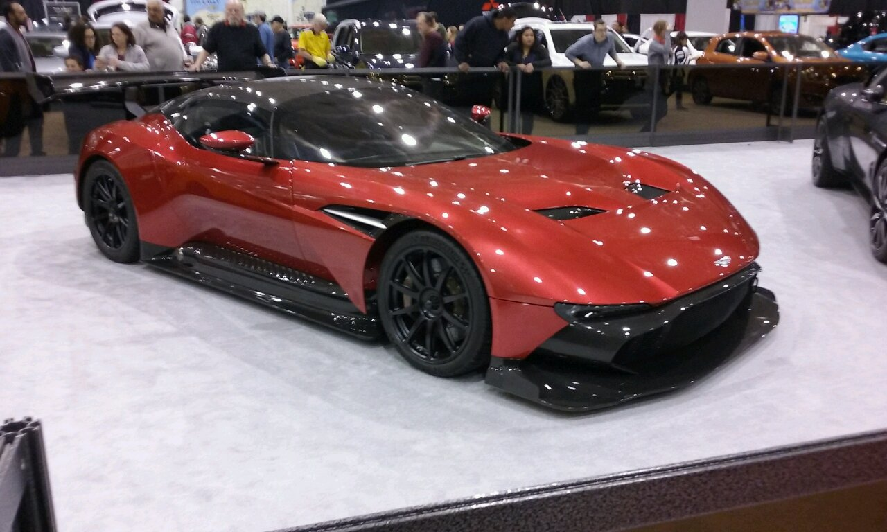Millionaires Row At The Cleveland Auto Show - Cleveland car show