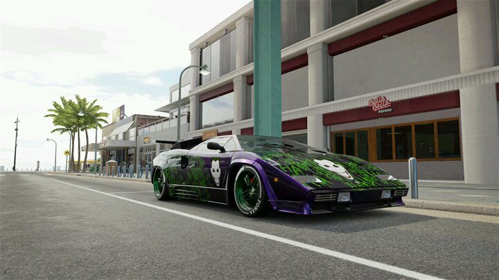 Got That Purple Lamborghini Lurkin Rozay Forzatography