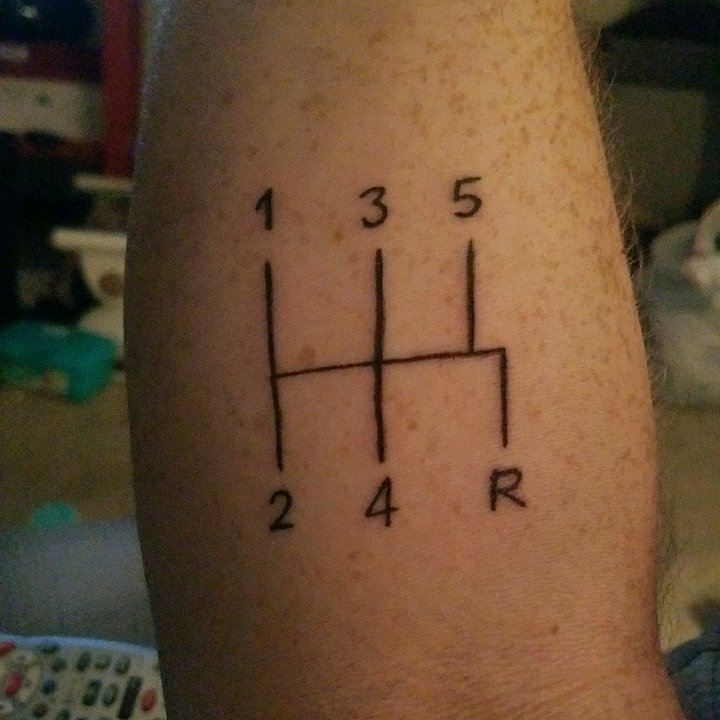 Anybody Have Car Related Tattoos? I Just Got This Friday