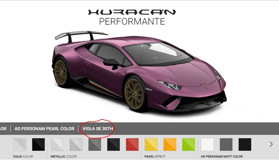 The Lamborghini Huracan Performante Is Available In The Same Diablo