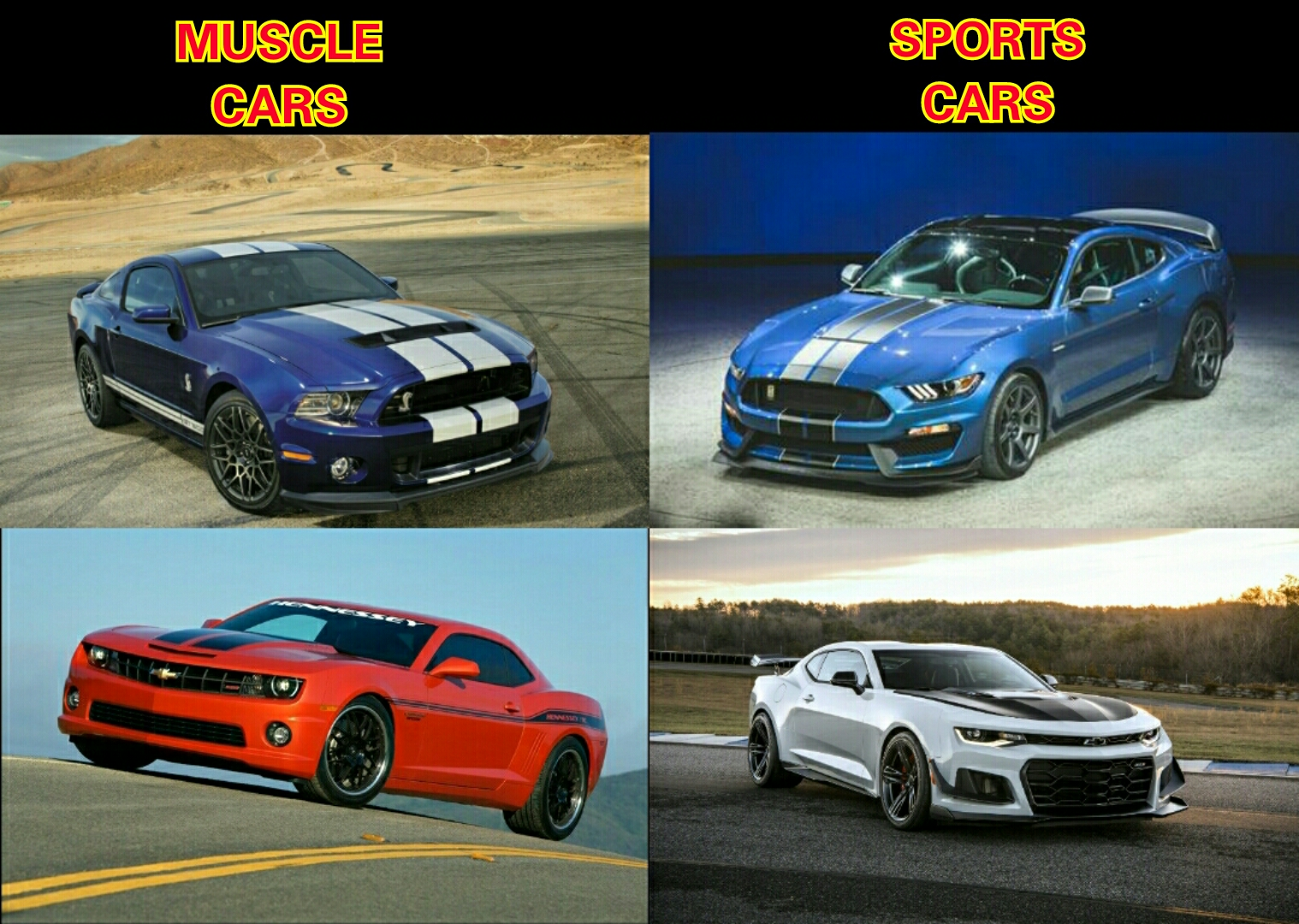 Chad asked us about cars that are called muscle cars but are not. I ...