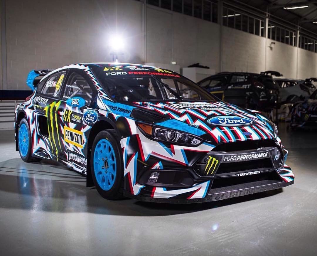 Ken block ford focus