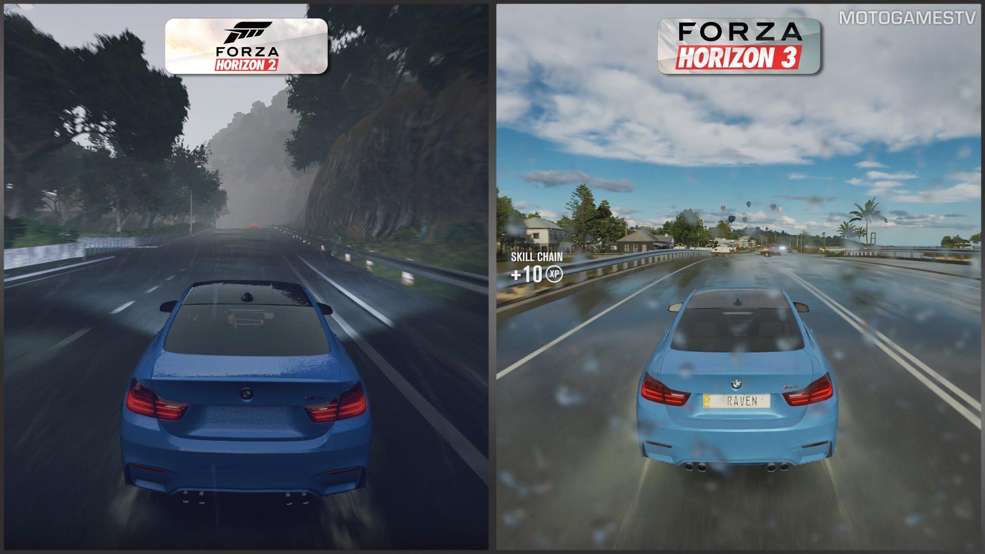Forza Horizon 3 VS Forza Horizon 2 - Which do you prefer and why?