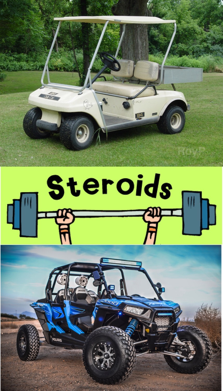 Rzr Golf Kart On Steroids Ctom