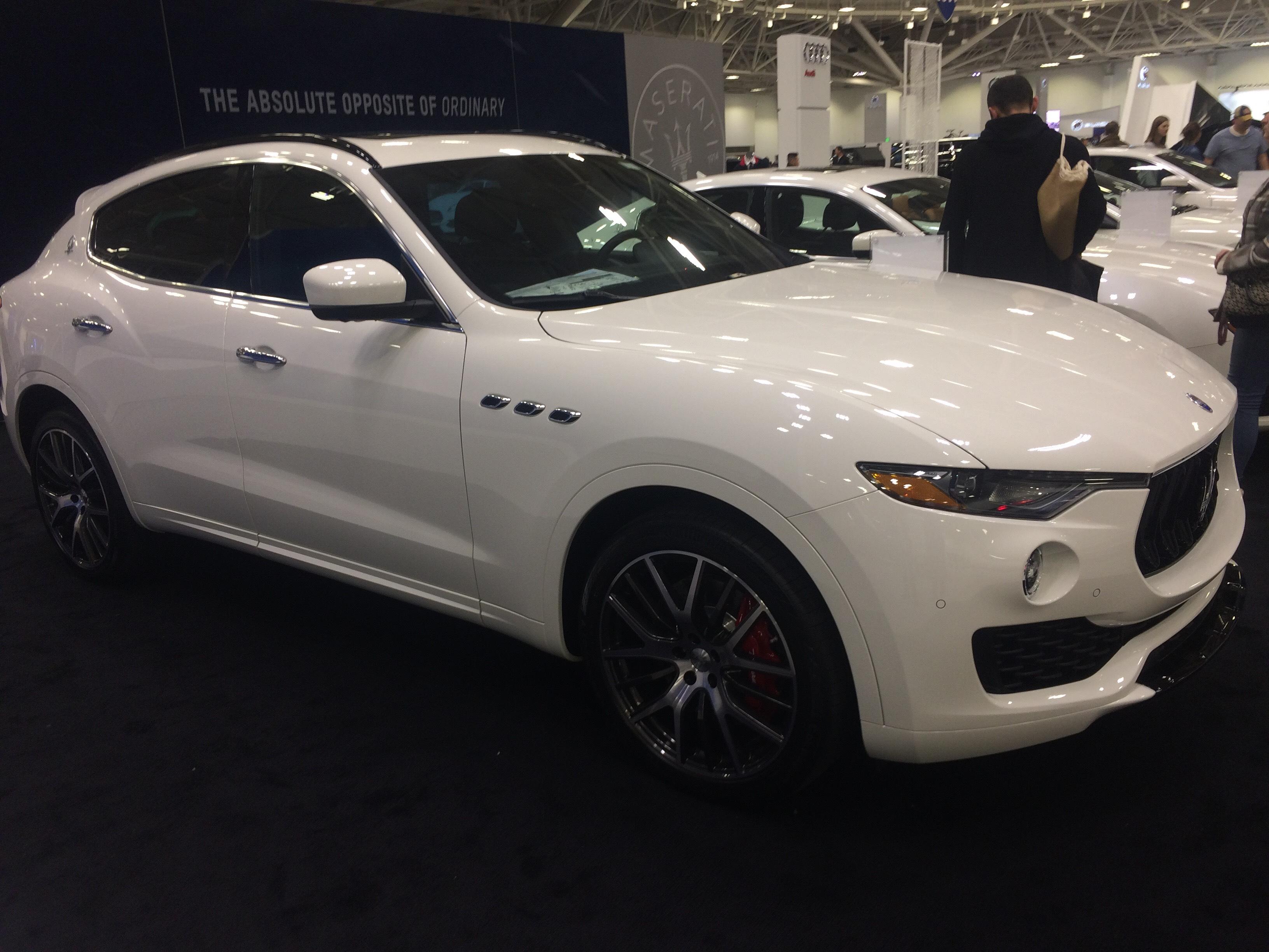 Maserati Levante At The Minneapolis Auto Show - Minneapolis car show