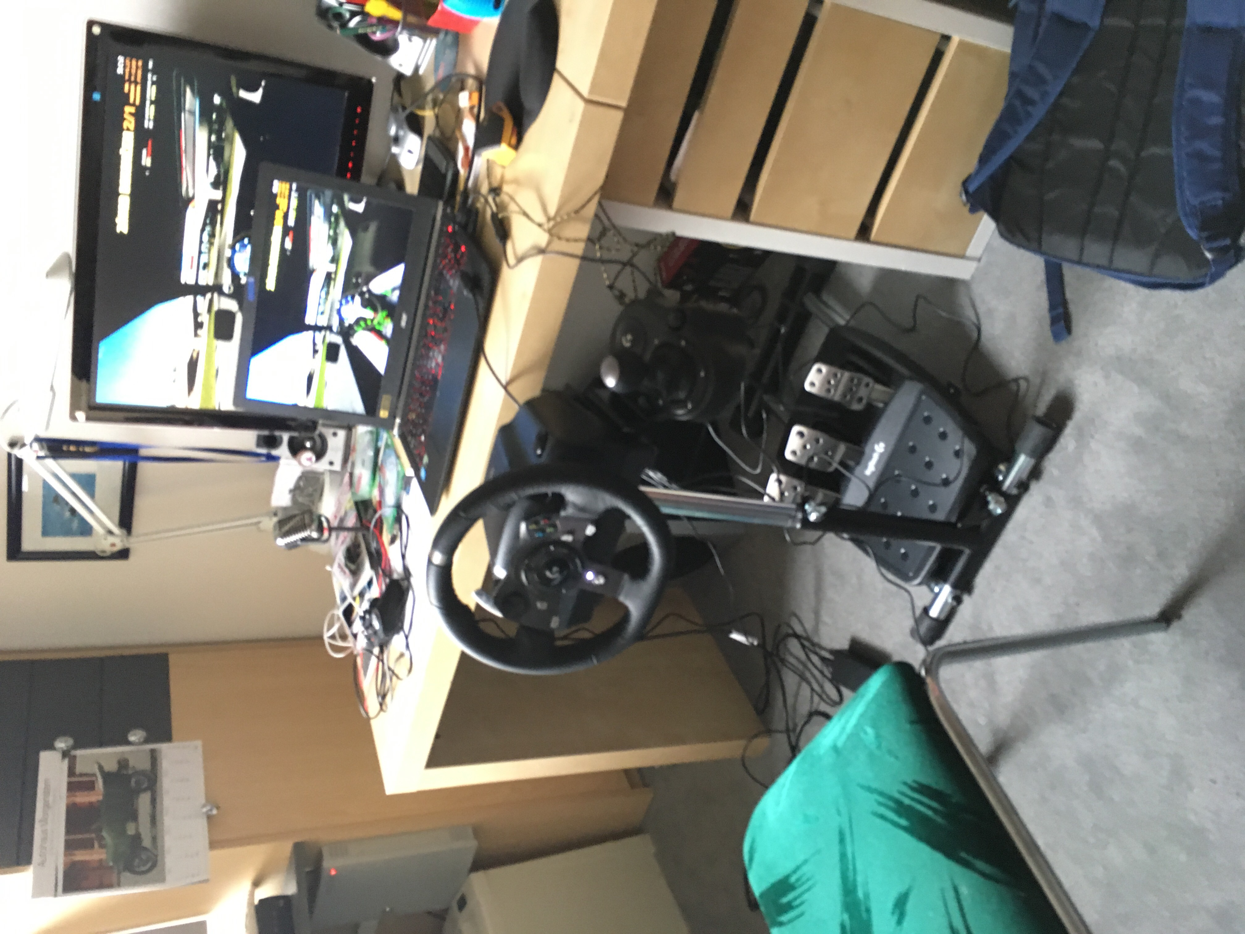Logitech G920 setup