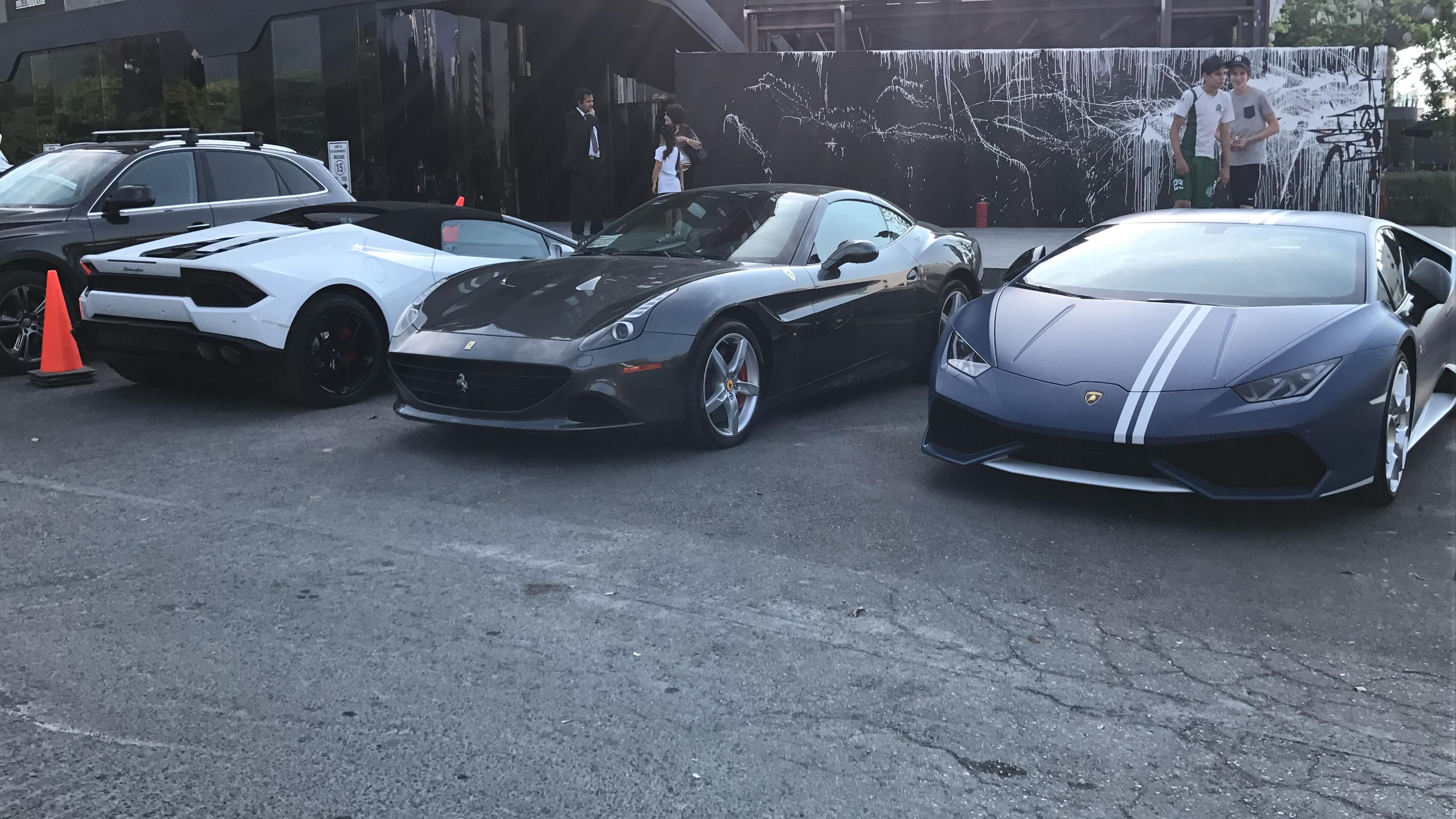 Lamborghini Huracán Avió + Lamborghini Huracán Spyder +
