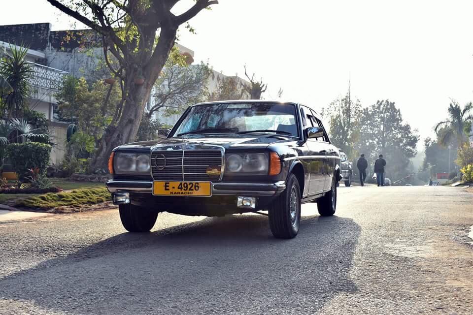 My 1983 W123 E 230