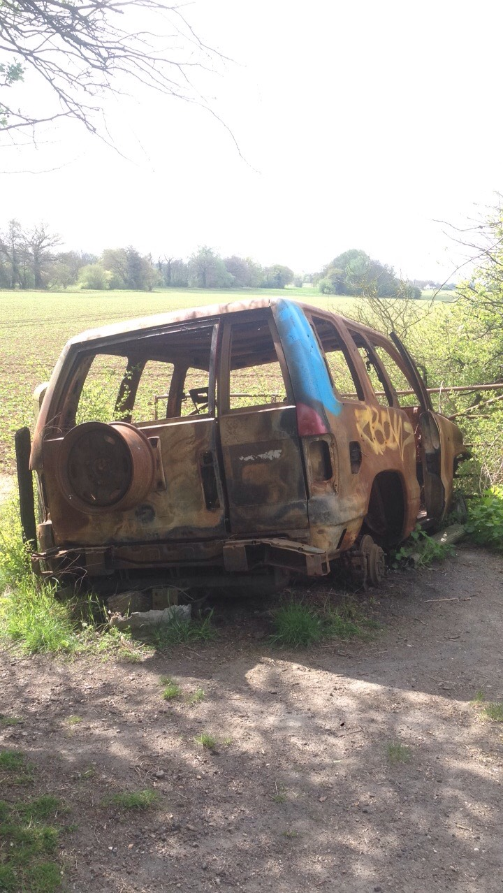 Craigslist: car for sale, slight fire damage