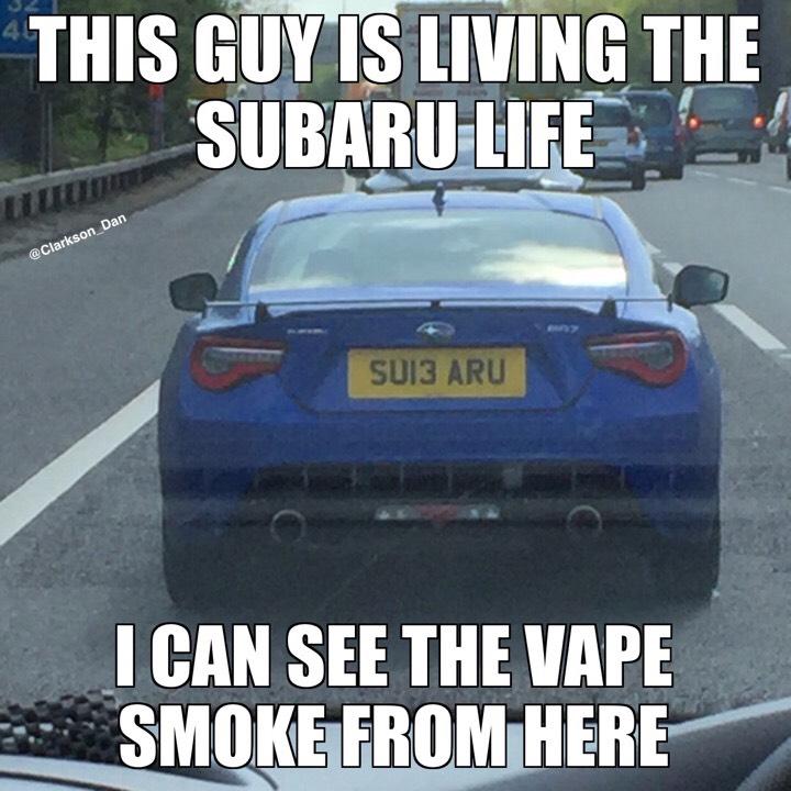 Subaru vape