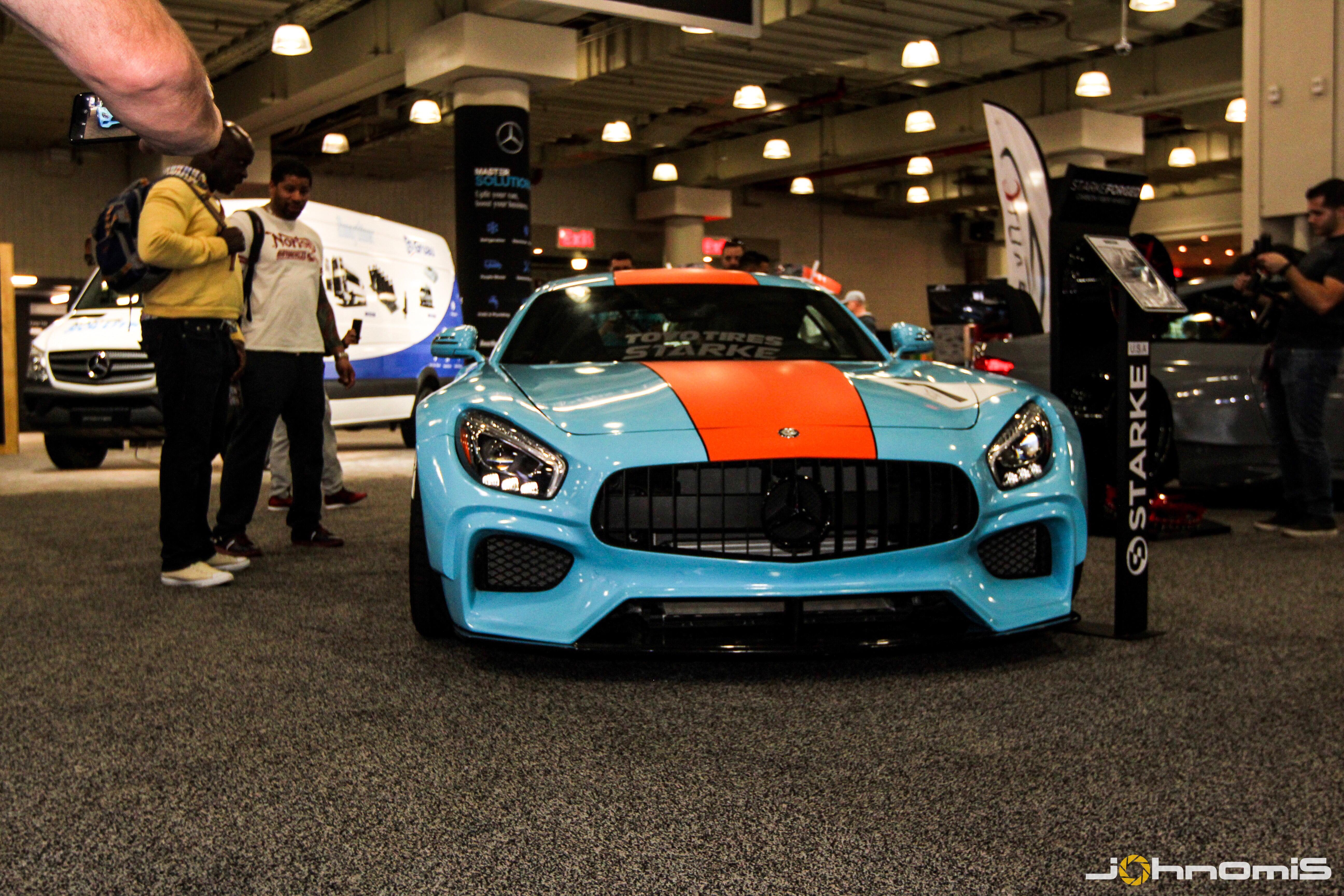 Starke Usa S Amg Gt Cool Livery New York Auto Show Pinoyracing