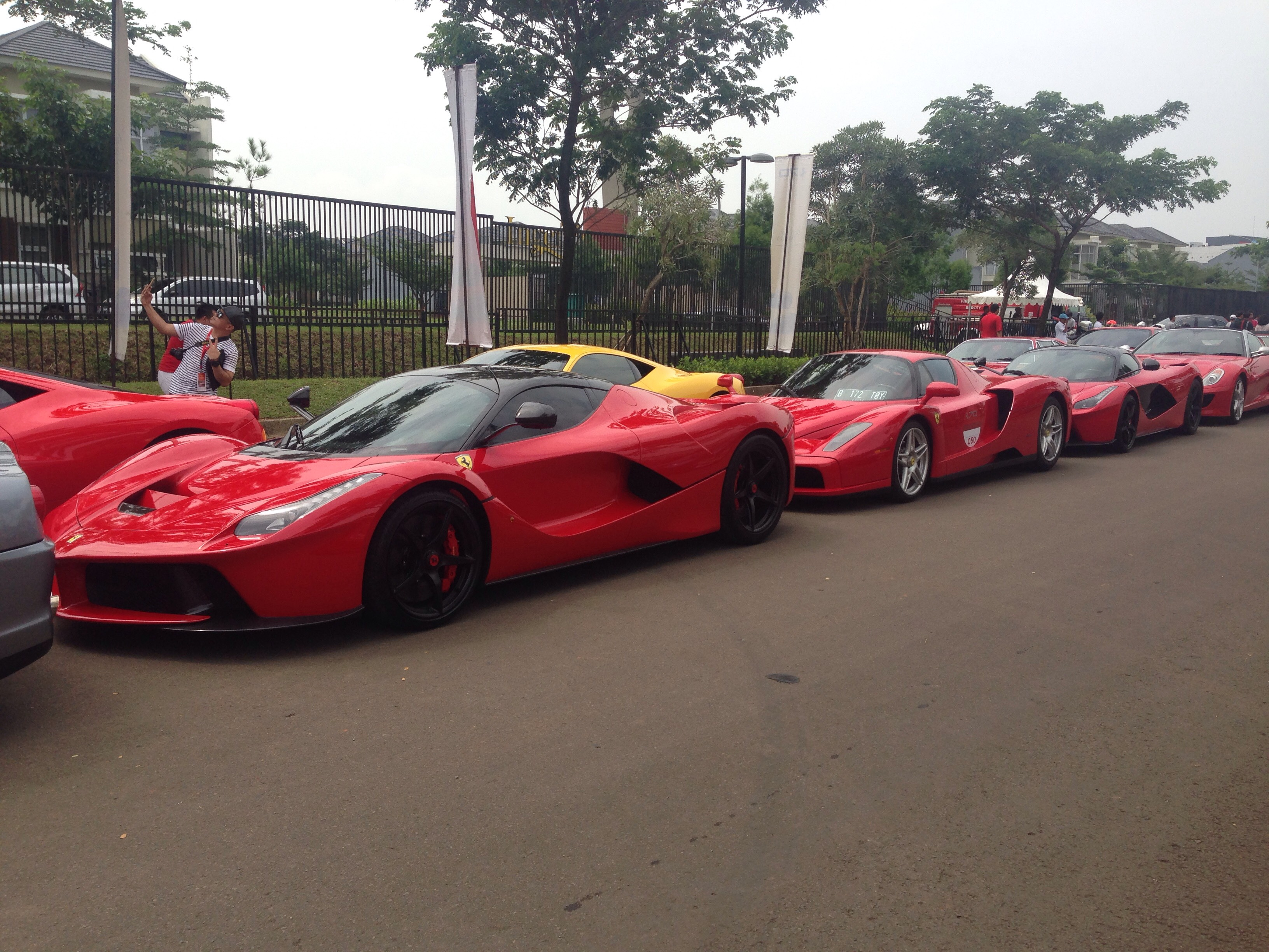 Yesterday S Compilation At Ferrari Festival Of Speed Bsd Indonesia