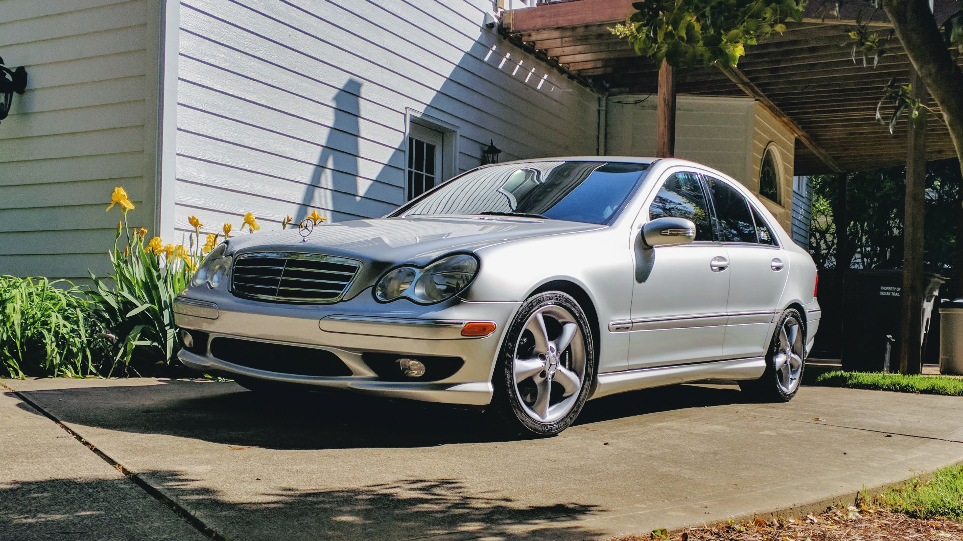 2005 Mercedes Benz C Class C230 Kompressor Sport Sedan 6 Speed