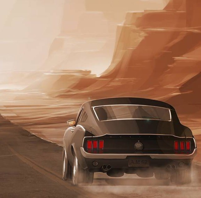 ford 1967 ford mustang fastback in arizona iphone wallpaper for those pony car fans