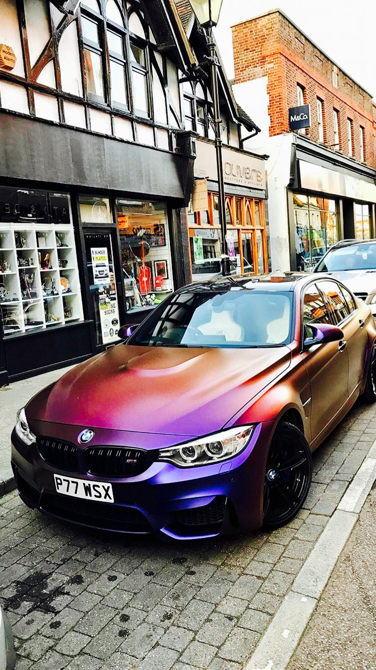 Paul Wallace From Supercars Of London His Armytrix Bmw With